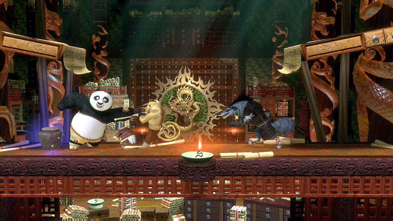 Kung Fu Panda Showdown of Legendary Legends (2016) PC | Лицензия