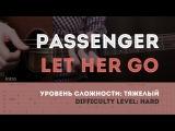 Как играть на гитаре Passenger - Let Her Go (guitar tutorial). YouPlayGuitarEasily