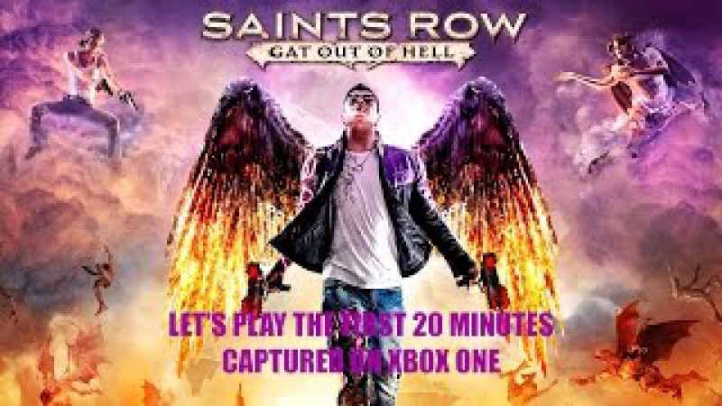 Let's Play Saints Row Gat out of Hell on Xbox One in 1080p