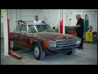 Новая жизнь ретро автомобилей: Mercedes-Benz 380SL