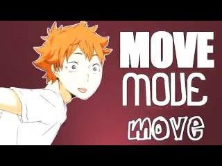 TIMBER Клип Amv по аниме anime Haikyuu!  Волейбол
