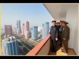 Ким Чен Ын осмотрел улицу учёных
