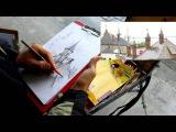 Обучение рисунку. Введение. 24 серия: еще о пленэре с карандашом