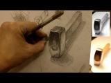 Обучение рисунку. Введение. 13 серия общая светотень