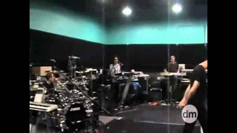Depeche Mode - Just Can't Get Enough (Rehearsal)