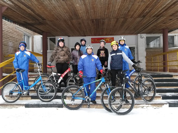 Велосекция-МТВ. Тренировки в январе.