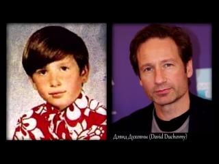 Блудливая Калифорния - актеры в детстве, молодости и сейчас _ Дэвид Духовны и др. (Californication)