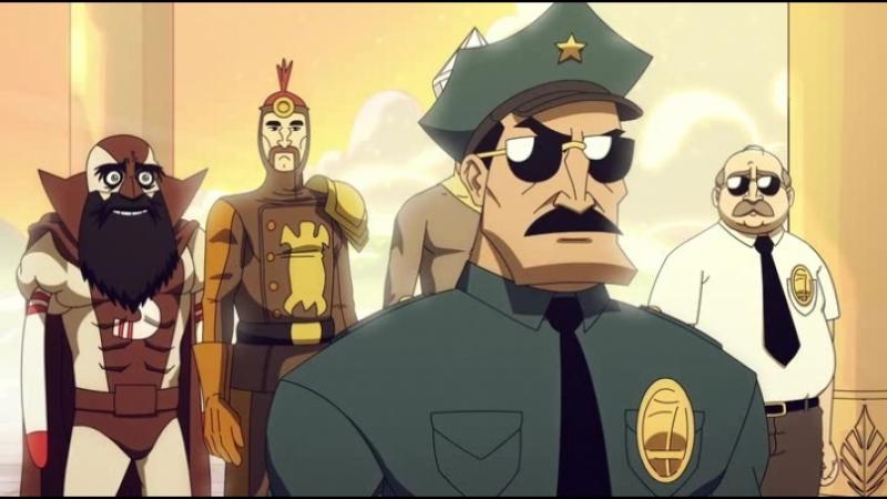 Мультсериал Коп с топором 2 сезон 7 серия (VO-production)