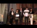 Вручение сертификатов на получение именных стипендий от компании ЭкоВоз студентам-экологам ВУиТ (2013 г.)