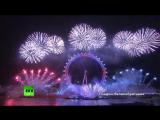 Города по всему миру встретили Новый год праздничными салютами