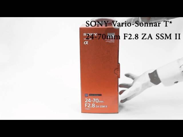 SONY Vario-Sonnar T* 24-70mm F2.8 ZA SSM II Vario-Sonnar T* 16-35mm F2.8 ZA SSM II