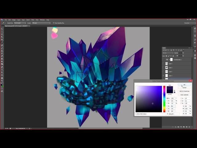 Работа над ошибками по уроку 1 (как рисовать кристаллы) » Freewka.com - Смотреть онлайн в хорощем качестве