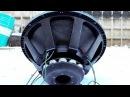 Разминка 32 дюймового сабвуфера Deaf Bonce