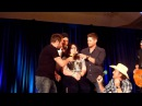 Jensen Ackles singing Jared Padalecki has killer cowbells skills DallasCon 2014