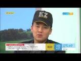 Победитель Нац. отбора Bala Turkvizyon-2015 - Kazakhstan и его продюсер в гостях утренней программы Таңшолпан