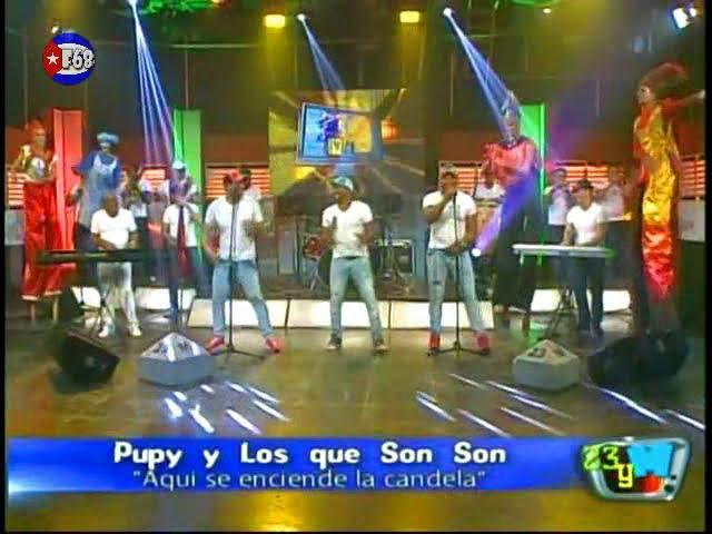 Pupy y Los Que Son Son - Aquí se enciende la Candela [2015]