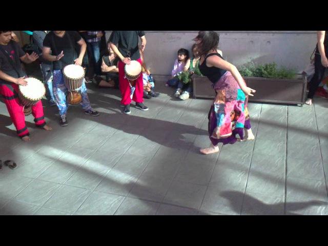 Danza afro kuku