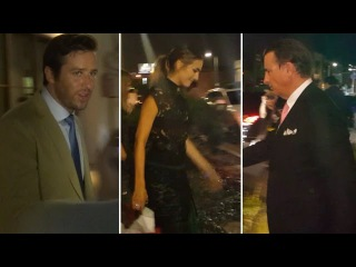 Armie Hammer, Camilla Belle, Andy Garcia, And More Attend Art Opening At Perfume Gallery