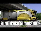 Euro Truck Simulator 2 - Чекнутые аварии, Новый Мерин и чёрный Рено, Драг-Гонки грузовиков