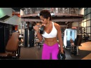 MICHELLE LEWIN Workout: Back and Biceps