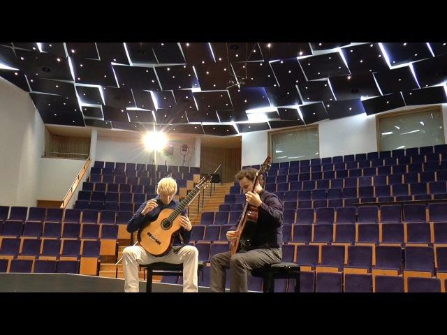 LUTOSLAWSKI: In Memoriam (for two guitars) Marek PASIECZNY feat. Michal STANIKOWSKI