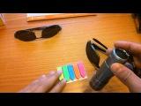 Простая проверка солнцезащитных очков на УльтраФиолет и поляризацию