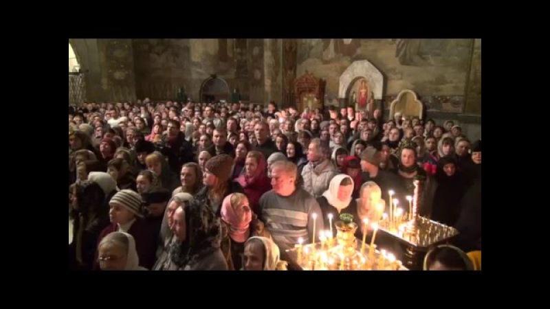 Блаженніший Митрополит Онуфрій звершив вечірнє богослужіння з чином прощення