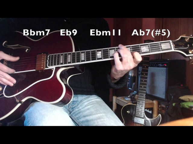 Body and Soul - (John Green) - Jazz guitar - melody harmonization