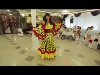 Цыганский танец. Цыганский танец с цыганочкой с выходом на свадьбе