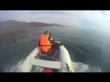 На лодке по Черному морю