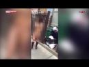 В Нью Йорке ревнивый муж выгнал жену на улицу голой