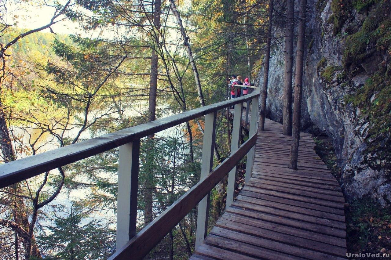 Туристическая тропа в Оленьих ручьях
