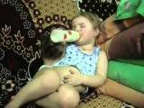 Дети засыпают. Приколы с детьми. Смешно до слез - YouTub