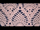 ♥ Узор крючком Ананасы без расширения (часть 1) • How to crochet pineapple Stitch