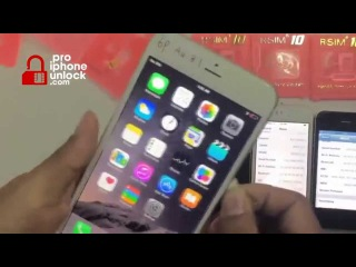 How to Unlock iPhone 4S, 5, 5C, 5S, 6, 6 plus with the R-Sim 10 Instructions
