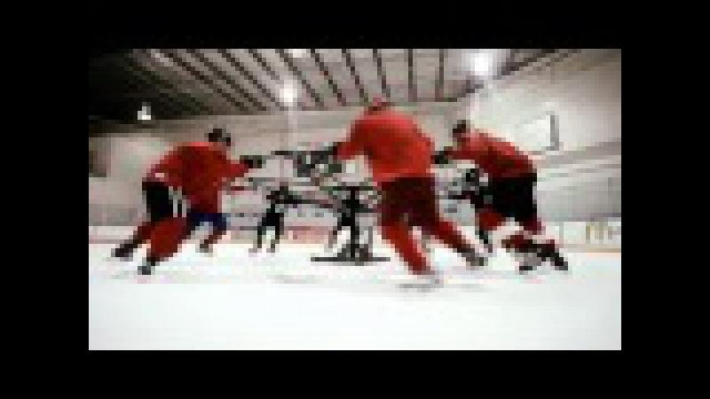 Хоккейная тренировка школы Universal Hockey