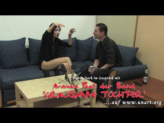 UnArt Live TV - Interview Grausame Töchter, Zeche Carl Essen 2014