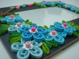 How to make a  petal of  a quilled Malaysian flower