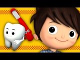 This Is The Way We Brush Our Teeth Nursery Rhymes from LittleBabyBum!