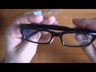 Посылка из китая. Очки для защиты глаз(TV PC компьютер)