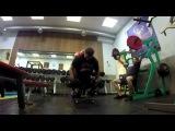 Железный Тролль и Алексей Жерихов - Тренировка спины (Поднять перископ)