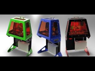 B9creator - сверхточный ювелирный 3D принтер [3DSLA.org]