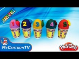 Play Doh Kinder Surprise Eggs for kids My Little pony