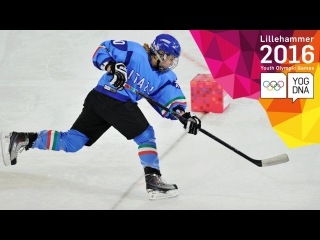 Ice Hockey - Men's Skills Challenge Final | Lillehammer 2016 Youth Olympic Games