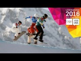 Snowboarding - Snowboard Cross - Heats, Semi-Finals & Finals | Lillehammer 2016 Youth Olympic Games