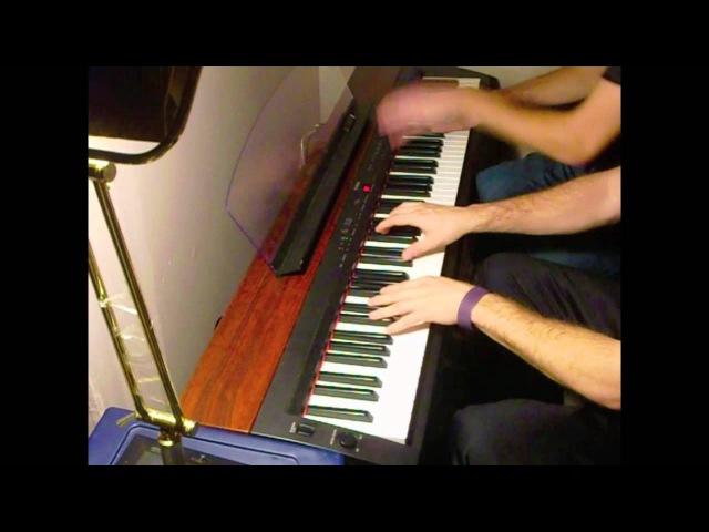 The Legend of Zelda: Ocarina of Time - Gerudo Valley Piano Duet FT. Frank Tedesco ( Sheets!)