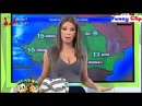 ТемВременем: Прогноз Погоды Weather Girl's Unfortunate Nip Slip Goes Viral