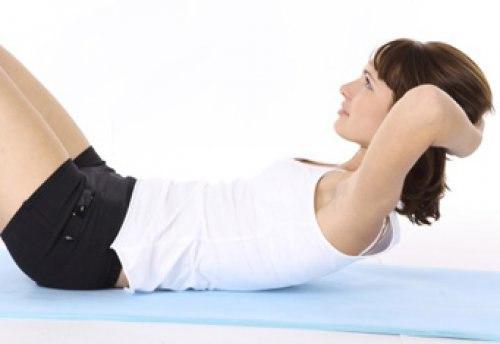 как согнать жир с живота и боков