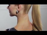Новый урок от Руслана Татьянина! Как собрать волосы в высокий тугой и чистый хвост (урок №5)