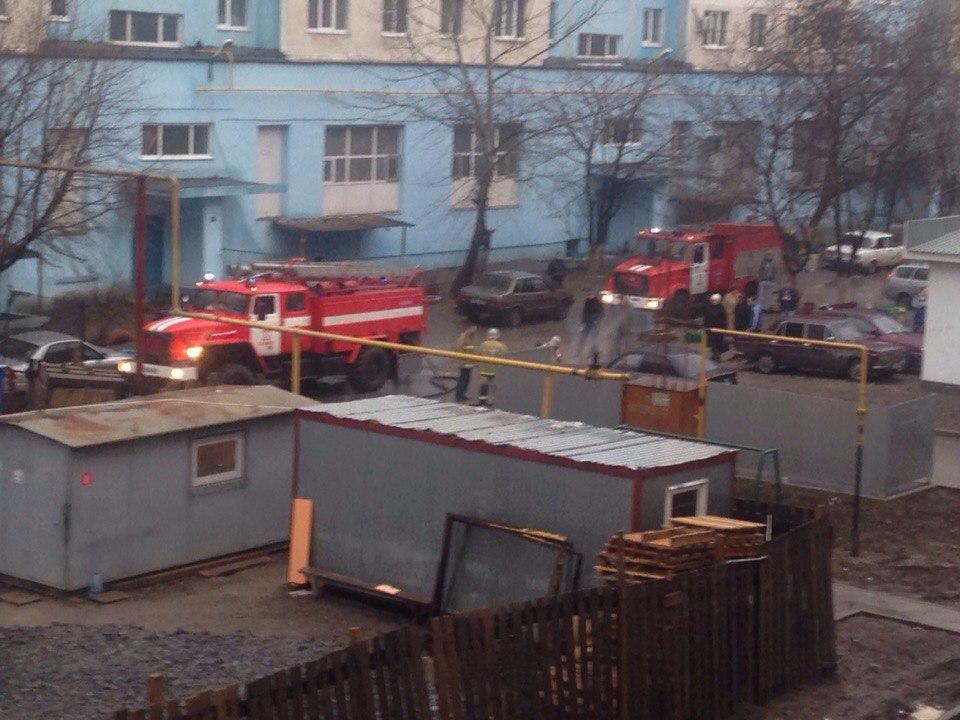 В Таганроге на Русском поле чуть не сгорел Hyundai Accent